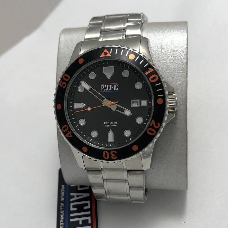Наручные мужские часы хронограф Pacific S1017 премиум