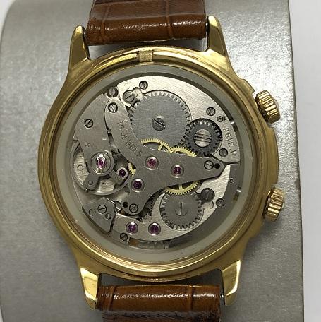 Мужские наручные часы Cardinal СССР синие позолоченные
