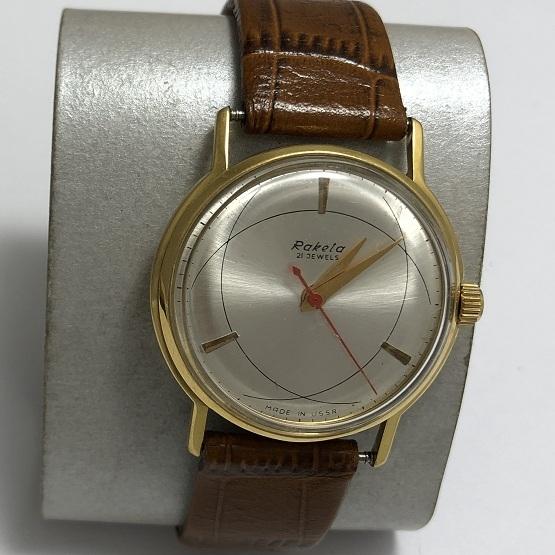 наручные часы Восток СССР 18 камней в позолоте