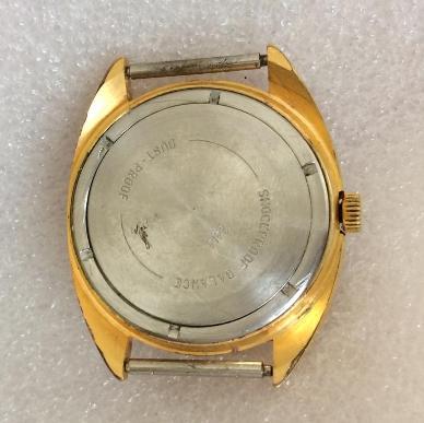 наручные часы Восток СССР черные редкие в позолоте