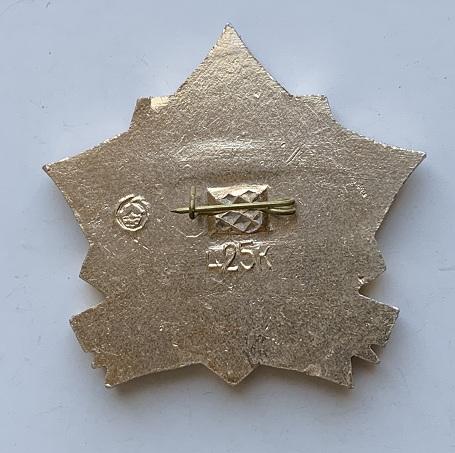 Наручные мужские часы Ракета СССР золотистые