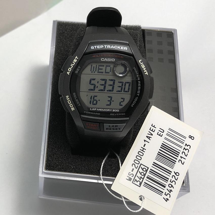 Наручные часы Casio WS-2000H-1AVEF