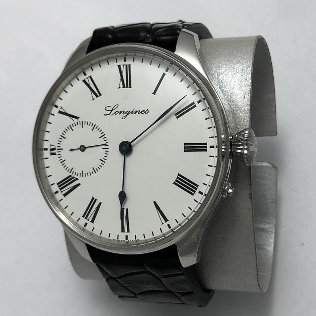 Мужские наручные швейцарские часы Longines 1908 год