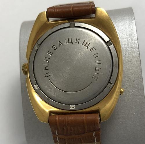 Мужские наручные часы Чайка СССР позолоченные