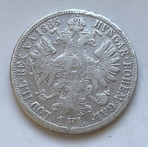 Монета флорин Австро-Венгрии