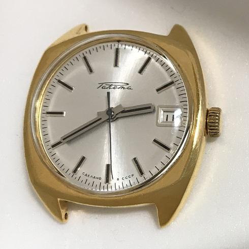 Мужские наручные часы Ракета СССР 2609 НА позолоченные
