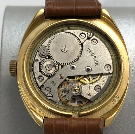 наручные часы Cornavin de luxe СССР 23 камня черные
