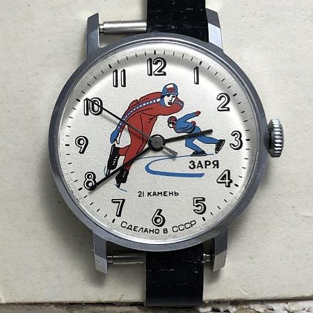 наручные часы Seconda СССР 21 камень позолота