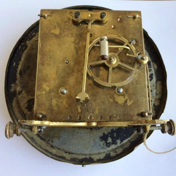 Старинные немецкие настенные часы конец 19 века