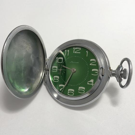 Карманные часы Молния редкие