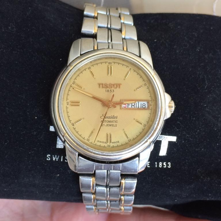 швейцарские часы Tissot 21 jewels automatic