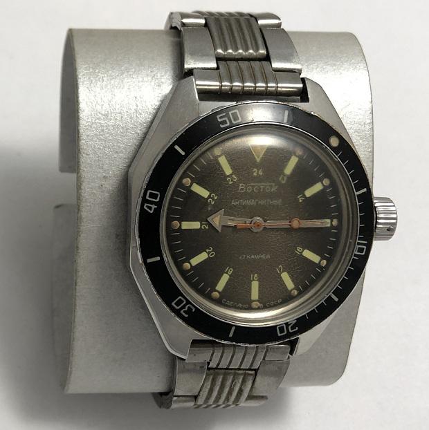 Командирские часы СССР Восток Амфибия антимагнитные
