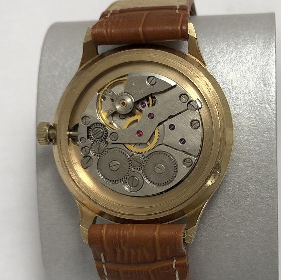 наручные часы Полет тонкие СССР позолота 2614