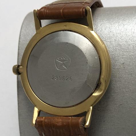 Мужские наручные часы Луч плоские 23 камня СССР позолота