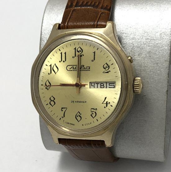 Мужские наручные часы Слава СССР большие