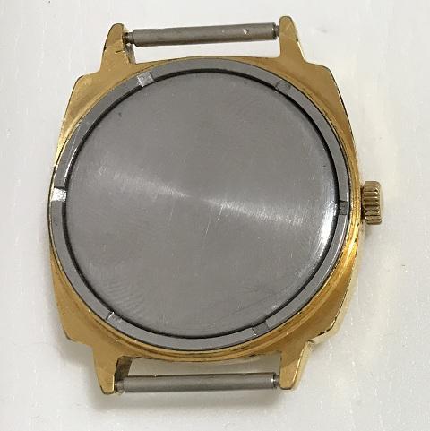 Наручные мужские часы Луч СССР в позолоте редкие 23 камня