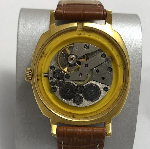 Мужские наручные механические советские часы Слава