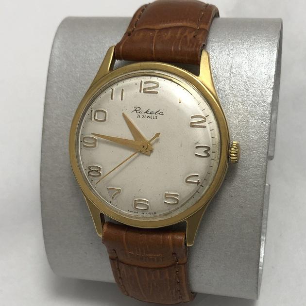 Мужские наручные советские часы Ракета