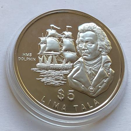 Серебряная монета Токелау