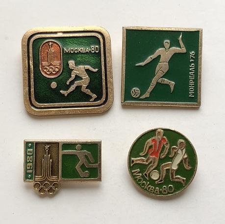 Значки СССР Олимпиада 1980
