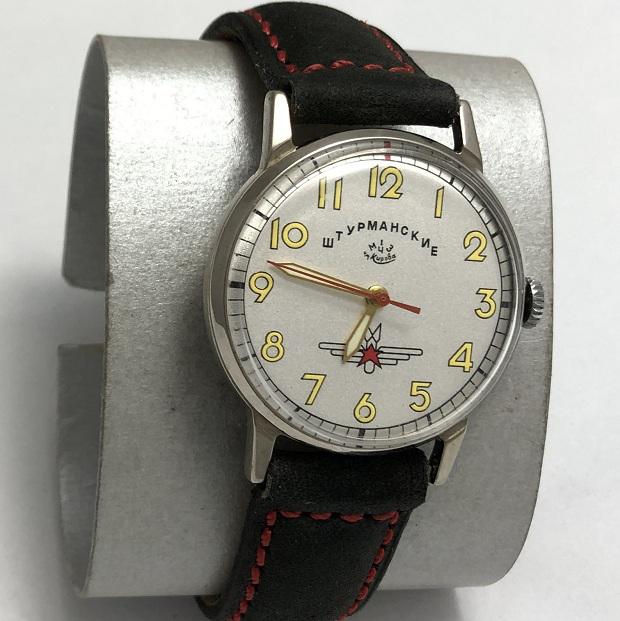 Мужские наручные часы Штурманские 1 МЧЗ СССР отличные