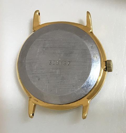 Мужские наручные часы Ракета СССР 2609 редкие позолоченные экспортные