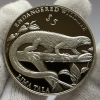 Серебряная монета 5 тала Токелау Ящерица