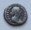 Монета денарий Древний Рим Фаустина