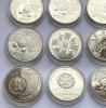Монеты разных старн мира 21 шт
