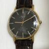 Мужские наручные часы Луч СССР черные с узорами 1977 год юбилейные