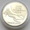 Монета Украины 2 гривны Парусный спорт Олимпиада в Сиднее 2000 года