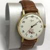 Мужские наручные часы Луч из СССР в позолоте