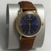 Мужские наручные часы Восток СССР позолоченные синие