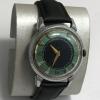 Наручные мужские часы Слава из СССР 26 камней позолота два календаря