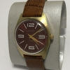 наручные часы Восток 18 камней СССР зеленые позолоченные