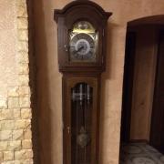 Часы напольные Tempus Fugit в дубовом корпусе с боем четвертные