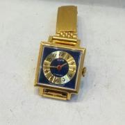 Женские наручные часы Заря СССР позолоченные с браслетом