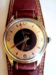 Мужские наручные швейцарские  часы Delbana Incabloc 17 Jewels