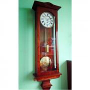 Старинные настенные часы австрийский регулятор 1880 года