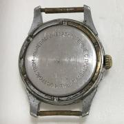 Мужские наручные часы Полет СССР 23 камня серебристые в позолоте