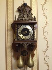 Часы настенные Wuba под антикварные (винтаж) Голландия
