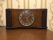Настольные деревянные часы с боем Belcanto из Германии старинные