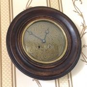 Старинные настенные часы Lenzkirch 1894 года!