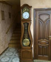Старинные напольные часы Morbier (Haut-Jura) большие с боем и маятником