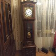 Старинные напольные часы Morbier с маятником и боем