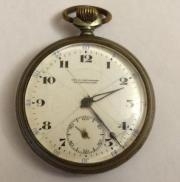 Старинные карманные швейцарские часы Revue Thommen около 100 лет!