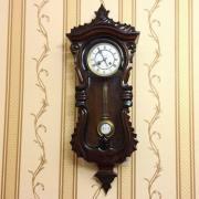 Старинные немецкие часы в стиле серпантин 1880-х годов