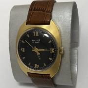 Мужские наручные часы Луч кварц минские зубры американский футбол новые позолоченные