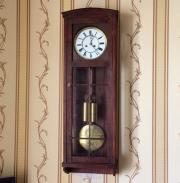 Старинные настенные часы австрийский регулятор 19 век