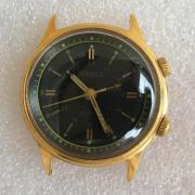 Наручные мужские часы Sekonda СССР позолота с будильником